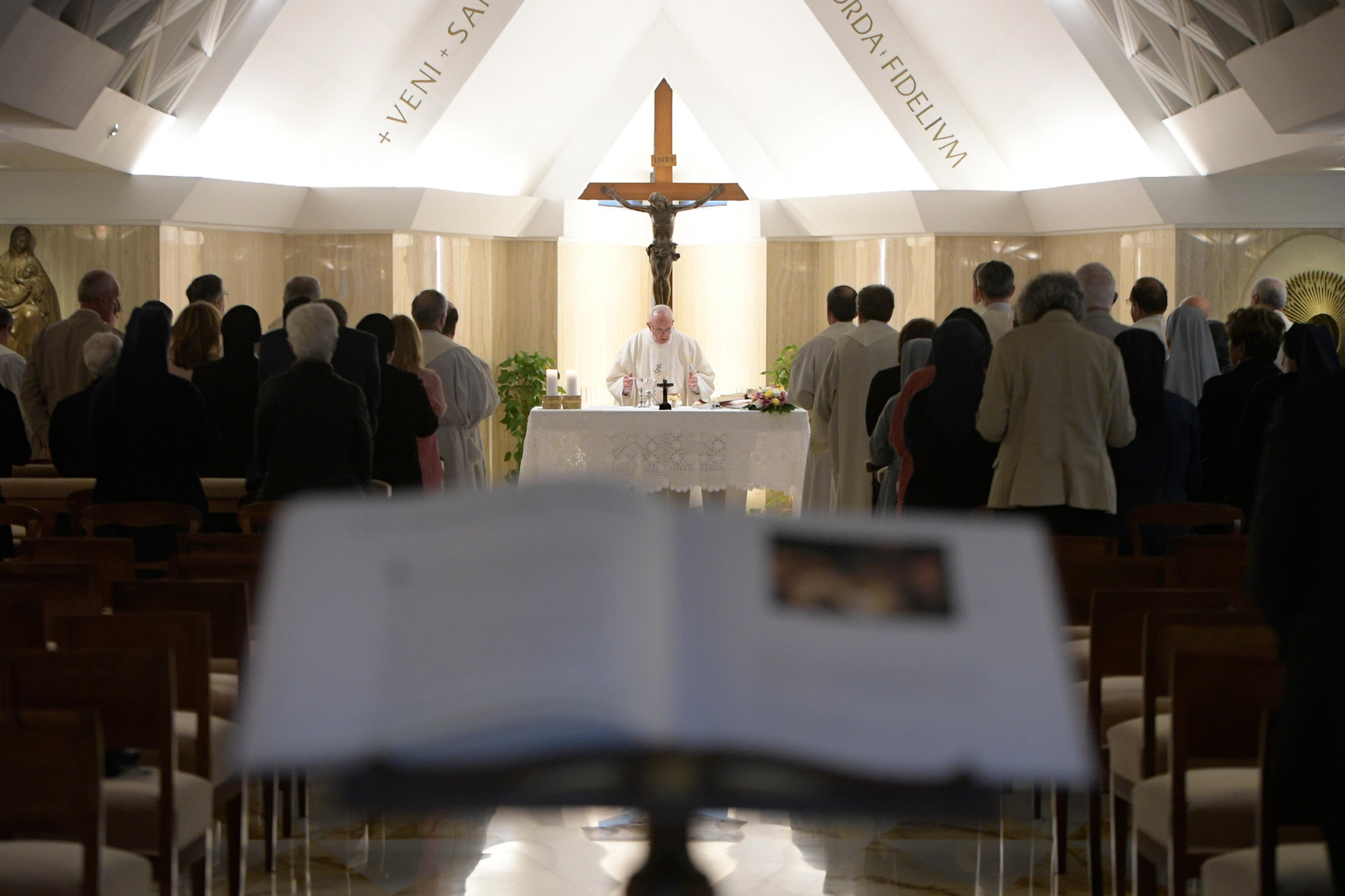 Misa del Papa en Santa Marta 25/09/2017 © L´Osservatore Romano