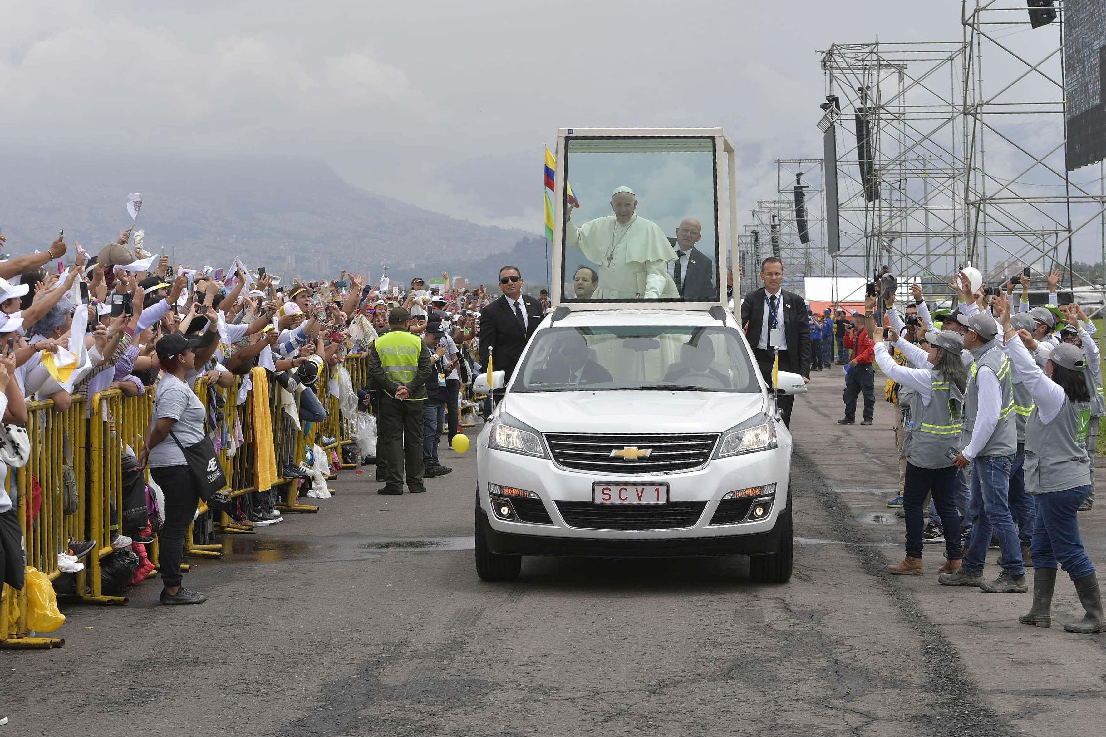 El Papa en Colombia © L´Osservatore Romano