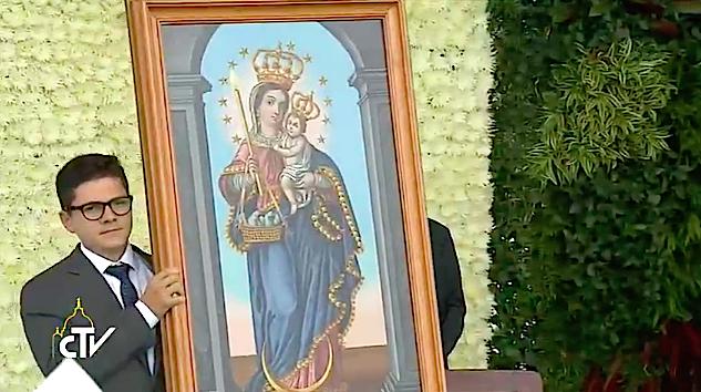 Ntra. Sra. de la Candelaria, Patrona de la Arquidiócesis de Medellín. CTV