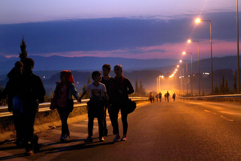 Migrantes, Croacia. (Fto. cortesía RJS)
