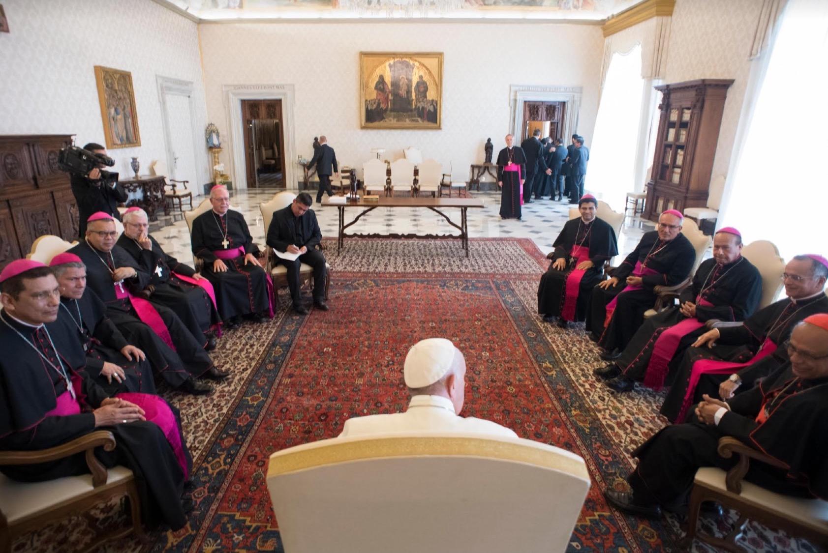 Obispos de Nicaragua en Visita ad Limina © L´Osservatore Romano
