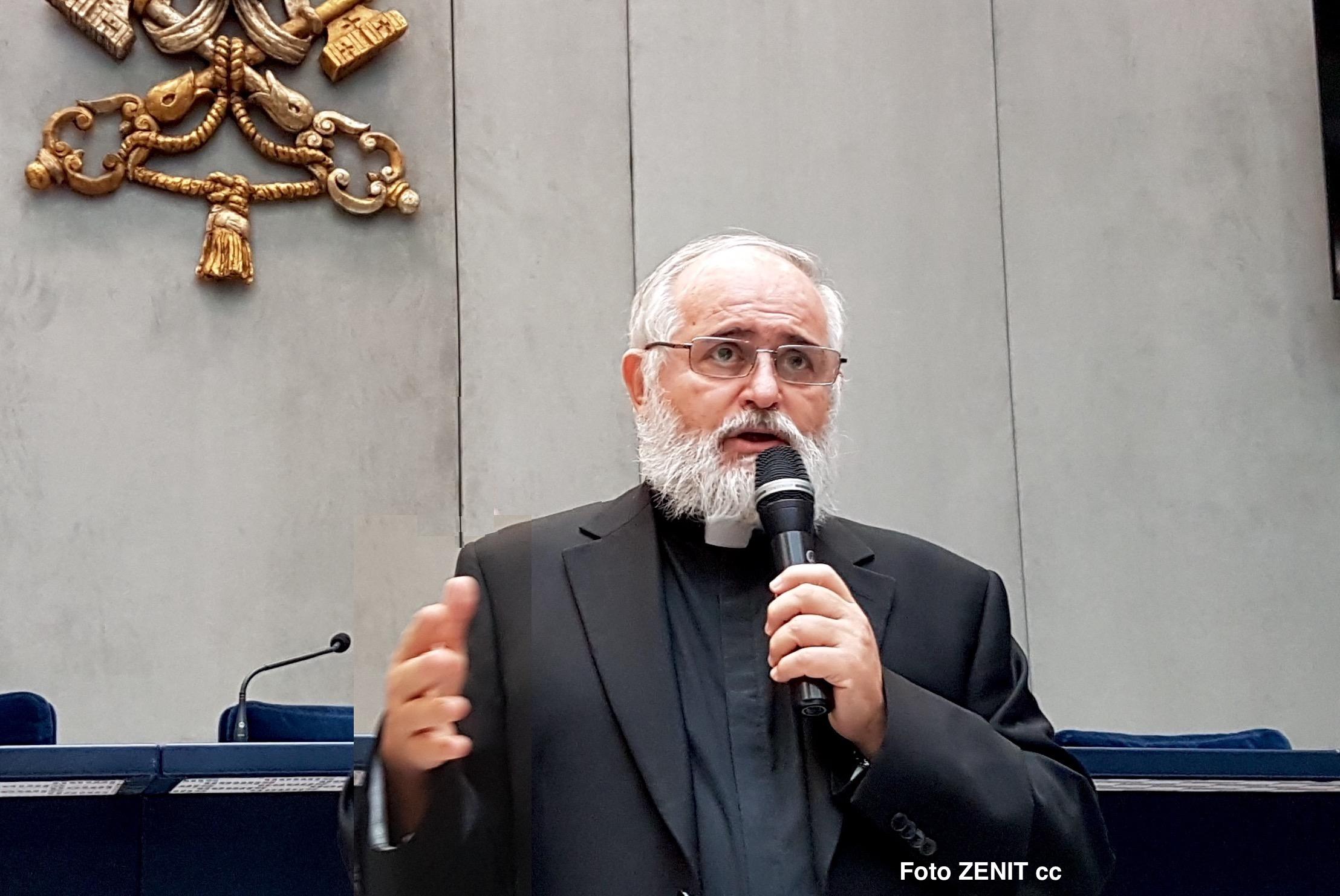 padre Bruno Ciceri, delegado de la Santa Sede para el Apostolado del Mar. (Foto ZENIT cc0)