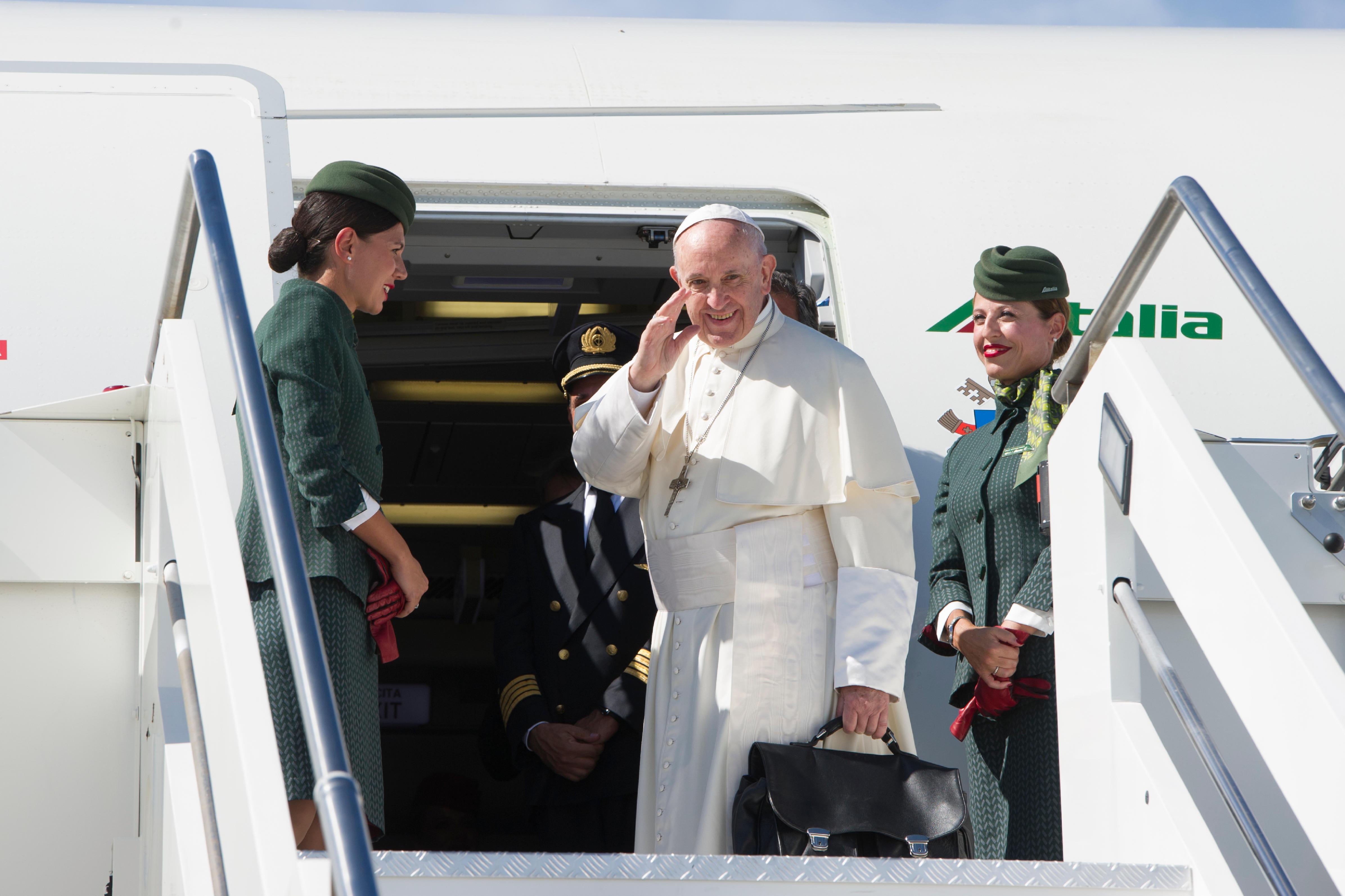 Salida del Papa a Colombia 06/09/2017 © L'Osservatore Romano