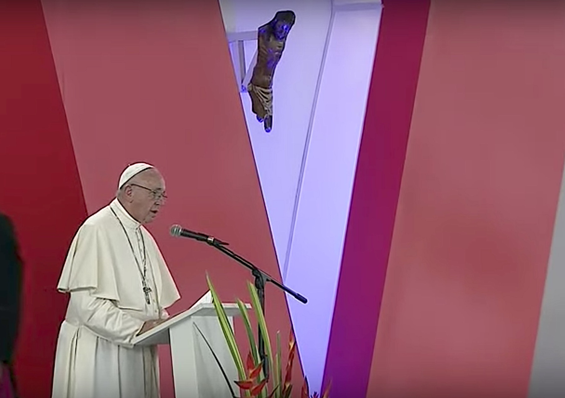 El Papa en Las Malocas