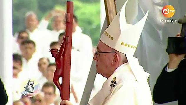 El Papa reza por las víctimas en México y en Centroamérica. Captura de pantalla CI