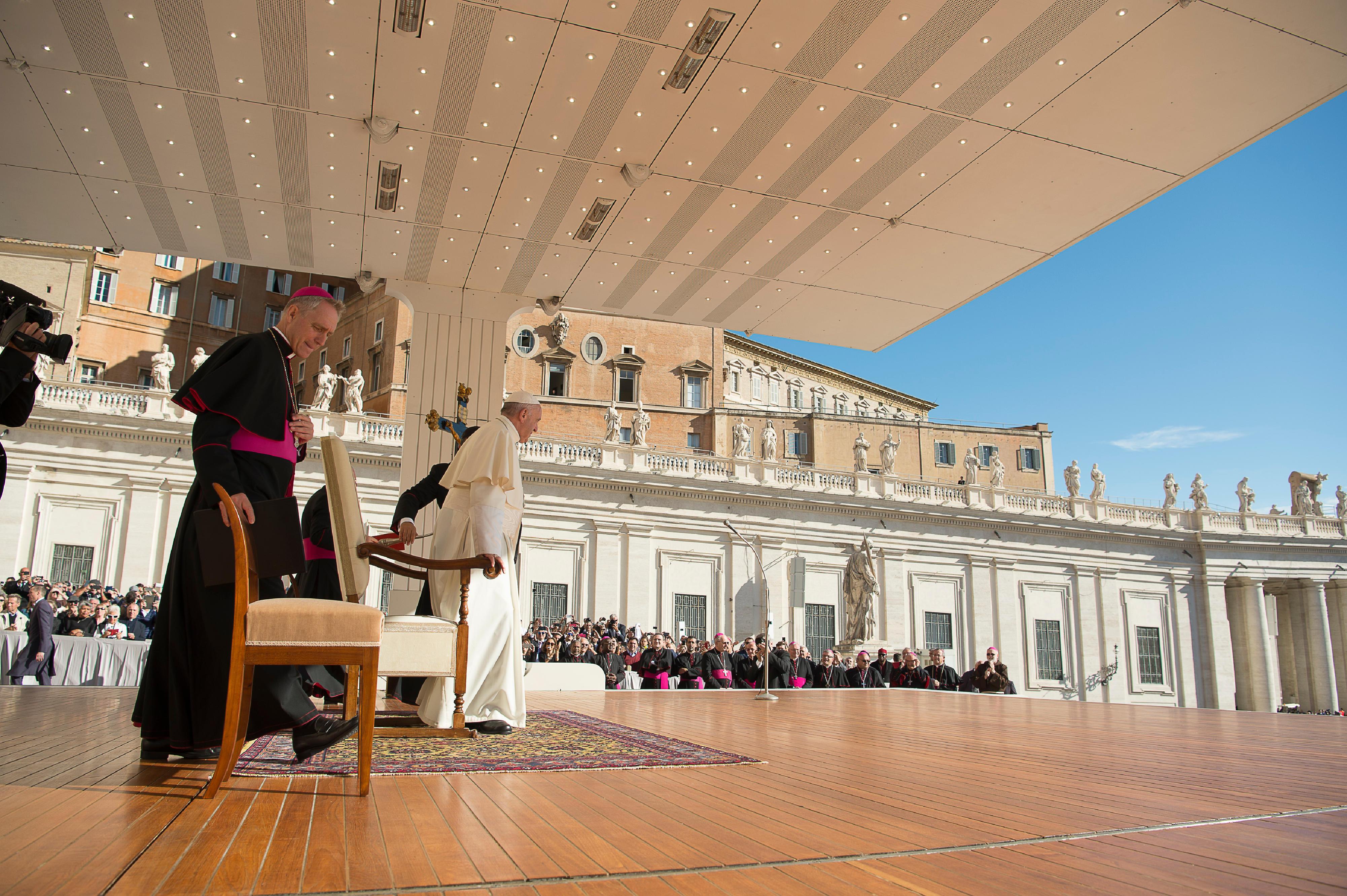 El Papa en la Audiencia general celebrada el 20 de septiembre de 2017 © L´Osservatore Romano