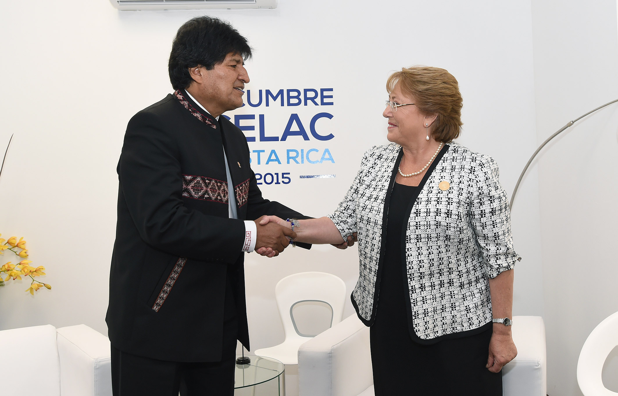 Evo Morales y Michelle Bachelet.Wikimedia commons