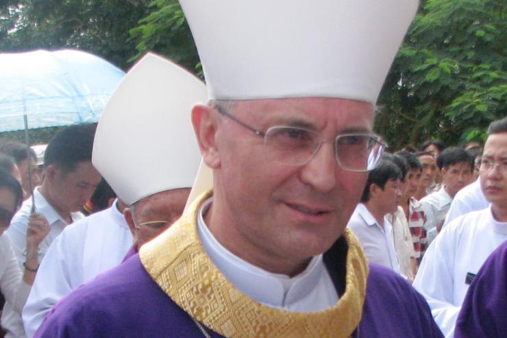 Mons. Leopoldo Girelli © Wikimedia Commons / Hoangvantoanajc