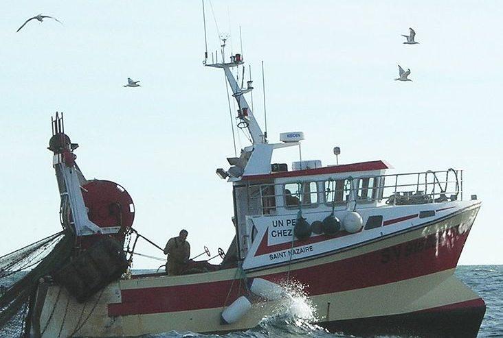 Barco de pesca. Wikimedia Commons
