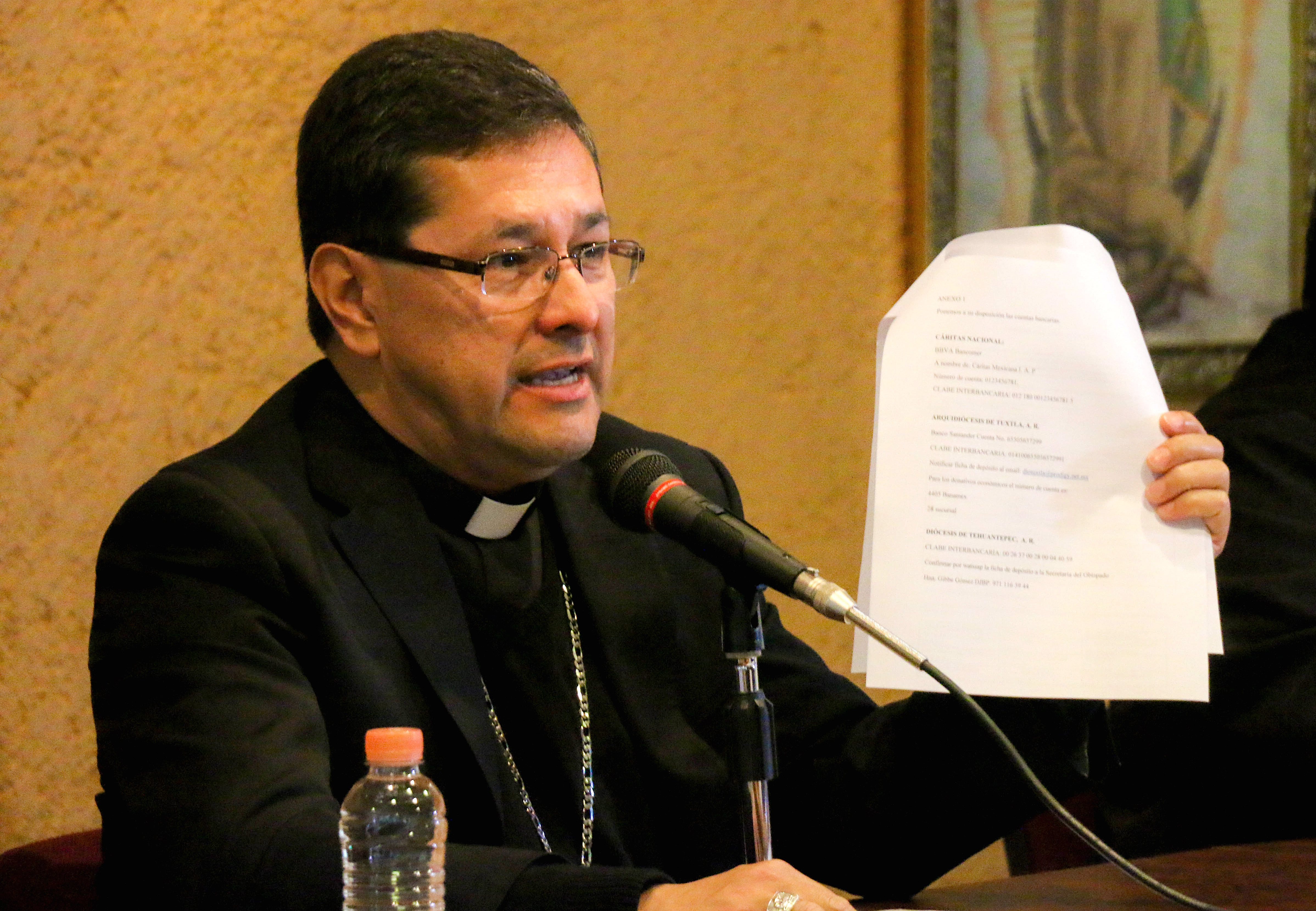 Mons. Alfonso Miranda, Secretario General de la CEM © Janet Pedraza