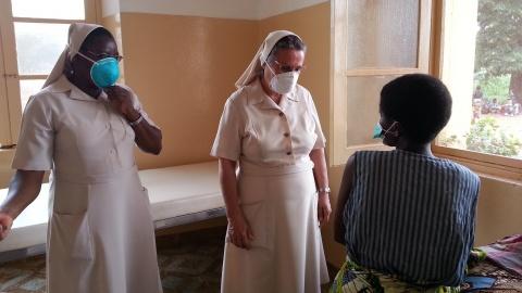 Hijas de la Caridad en Mozambique © Manos Unidas