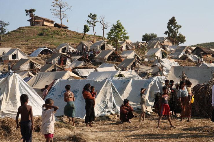 Rohingyans desplazados Wikimedia Commons/UK Department For International Development
