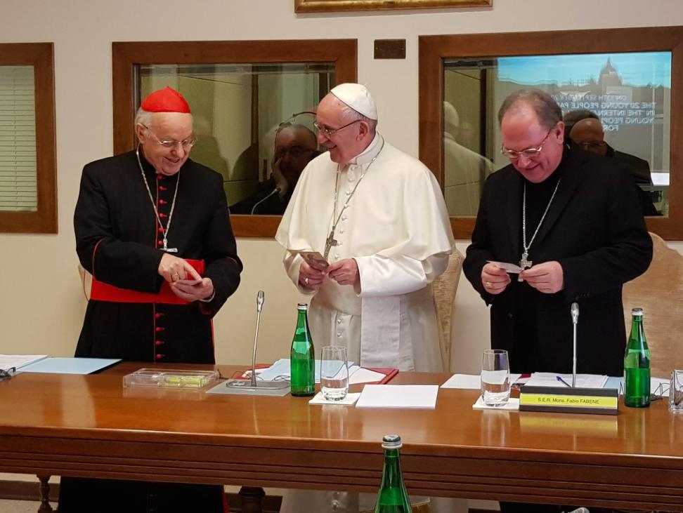 3ª reunión del XIV Consejo Ordinario de la Secretaría General @Synod2018