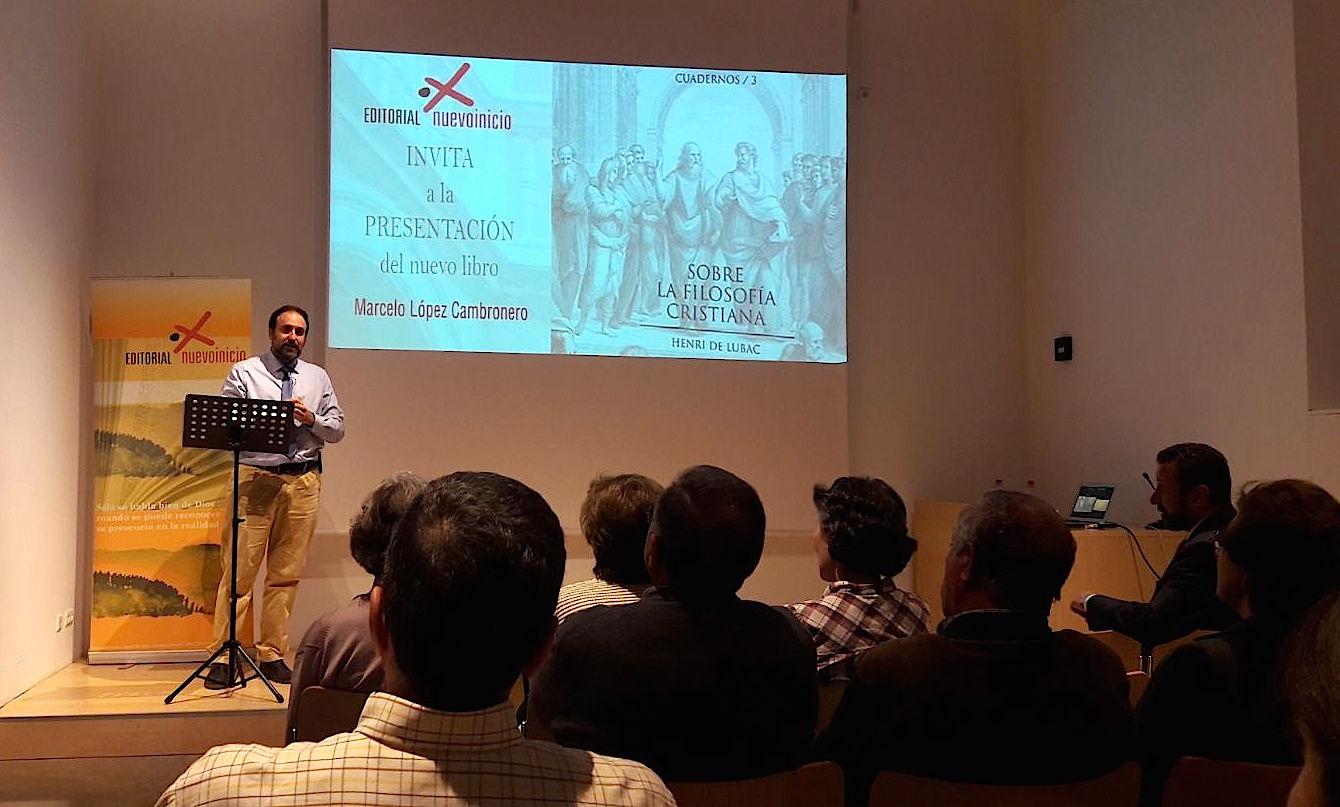 Marcelo López presenta el libro en Granada © Marcelo López Cambronero