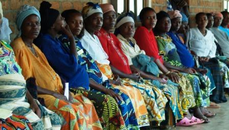 Mujeres embarazadas en República Democrática del Congo © Manos Unidas