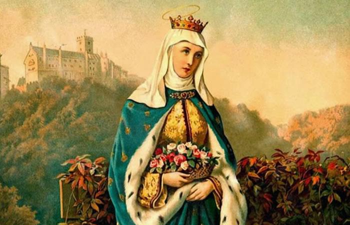 Santa Isabel de Hungría. Wikimedia Commons