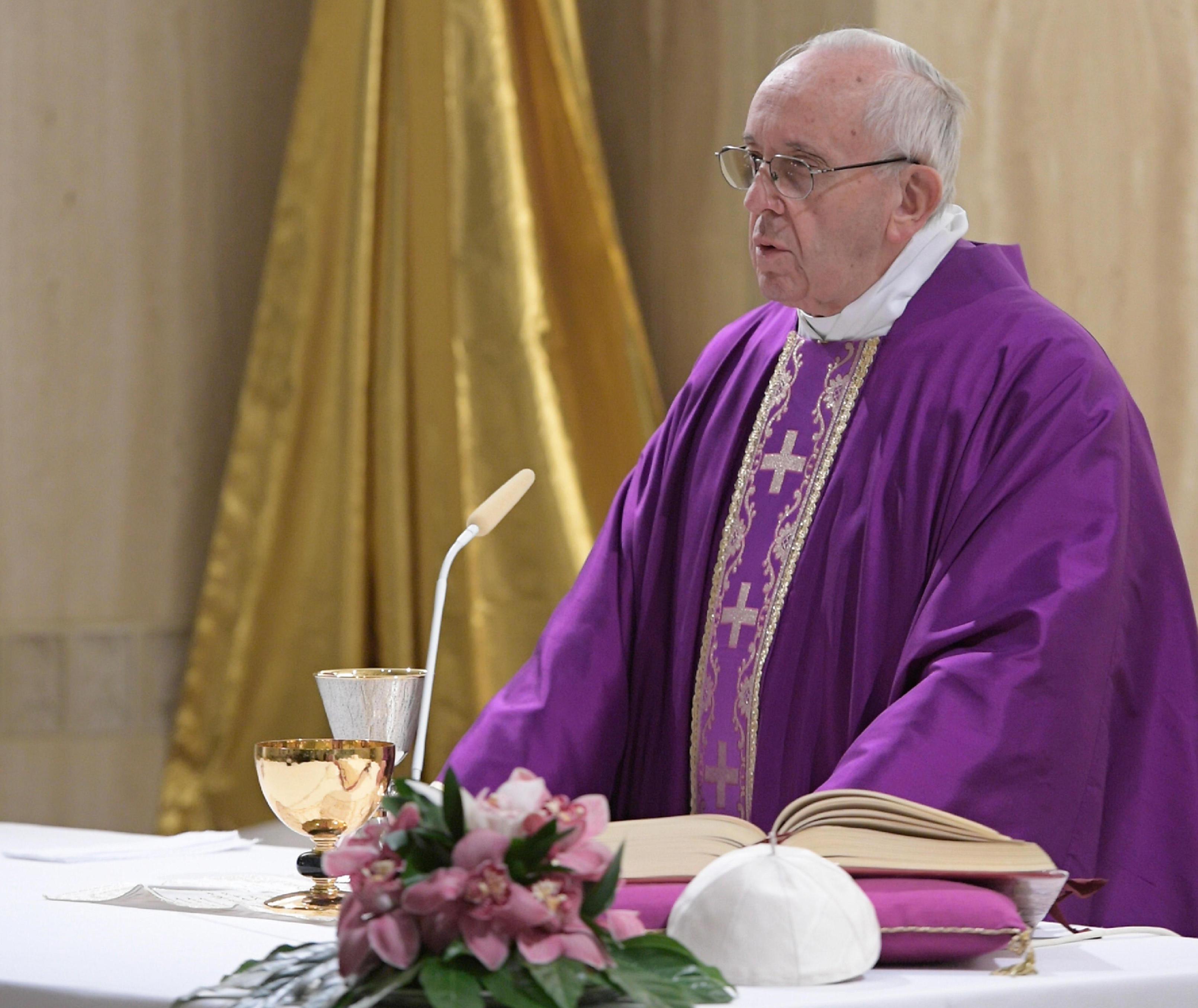 Misa del Papa en Santa Marta 19/12/2017 © L'Osservatore Romano