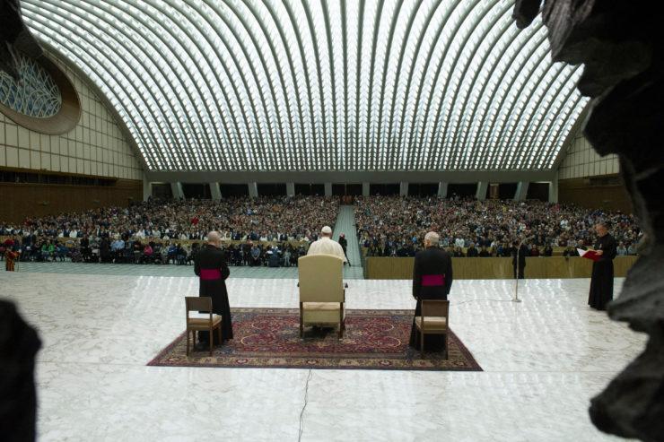 Audiencia General 27/12/2017 © Vatican Media