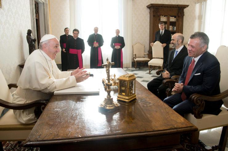 Visita Del Rey Abdullah 19/12/2017 © L'Osservatore Romano