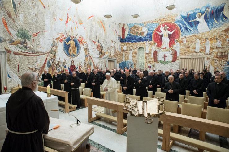 Predicación del padre Cantalamessa, Adviento 2017 © L'Osservatore Romano