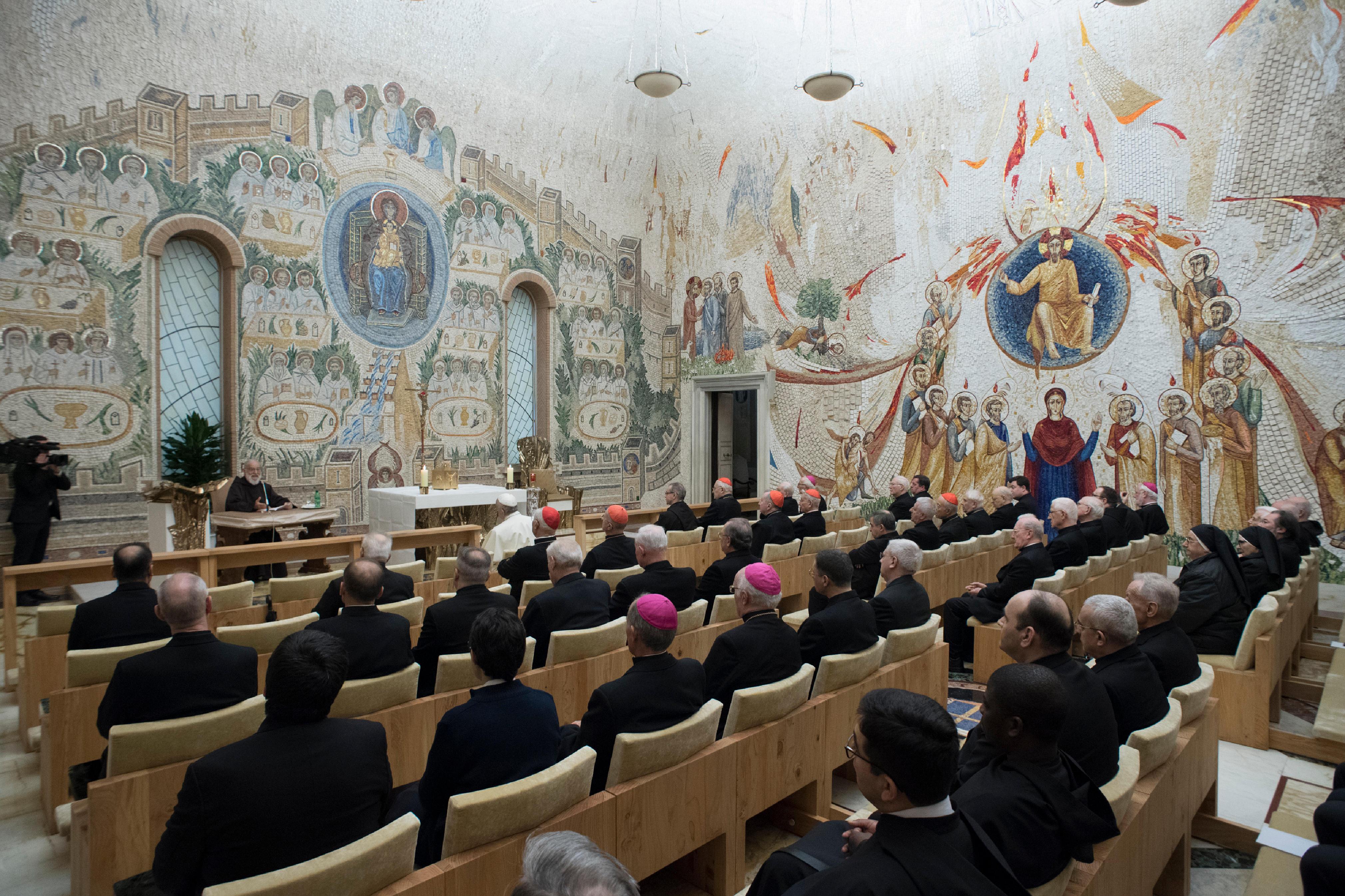 Predicación del P. Raniero Cantalamessa © L'Osservatore Romano