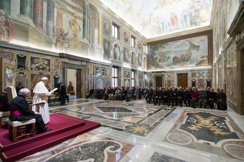 Discurso del Papa habla a los teólogos italianos © L'Osservatore Romano
