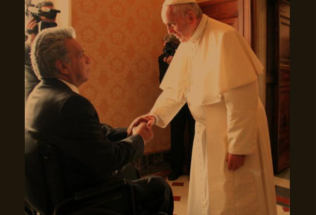 Lenín Moreno, Presidente de Ecuador © Twitter @Lenin