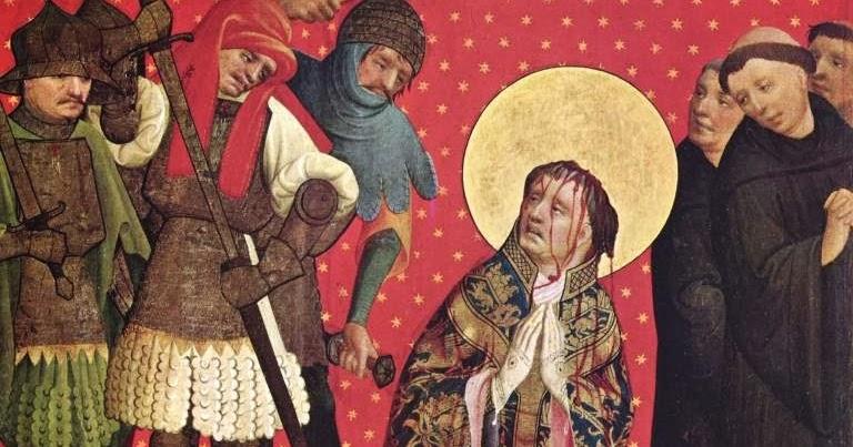 Martirio de Santo Tomás Becket