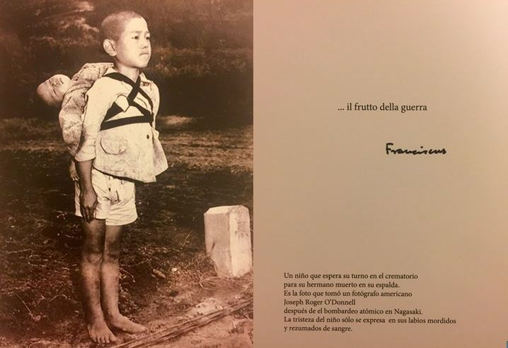 Foto Del Papa Para Denunciar La Guerra, Nagasaki © Oficina de Prensa De la Santa Sede