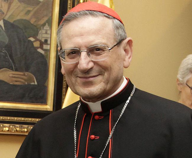 El Card. Angelo Amato se reunió con el Papa Francisco © Wikimedia Commons/ Fotos Presidencia El Salvador