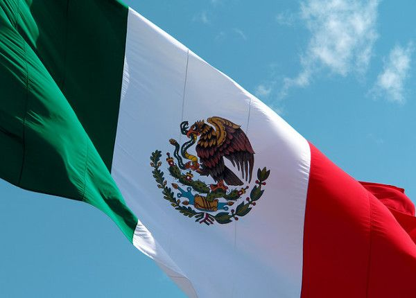 Bandera de México © Pinterest