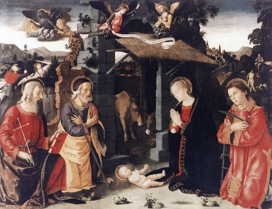 Nativity, Antoniazzo Romano