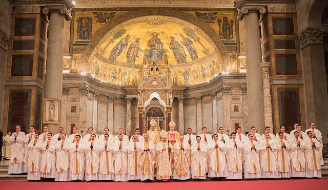 Ordenación de 33 sacerdotes de los Legionarios de Cristo © Regnum Christi España