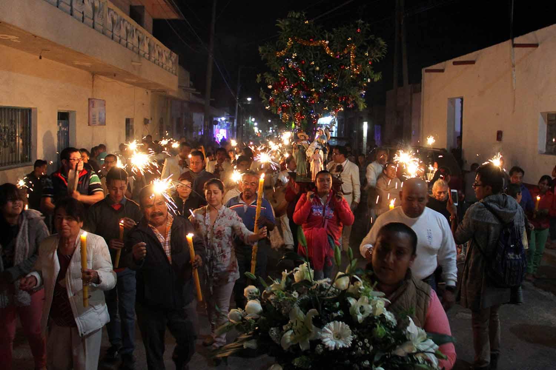 Posada navideña en Tehuacán © Agencia Enfoque