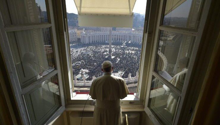 Angélus 28/01/2018 © Vatican Media