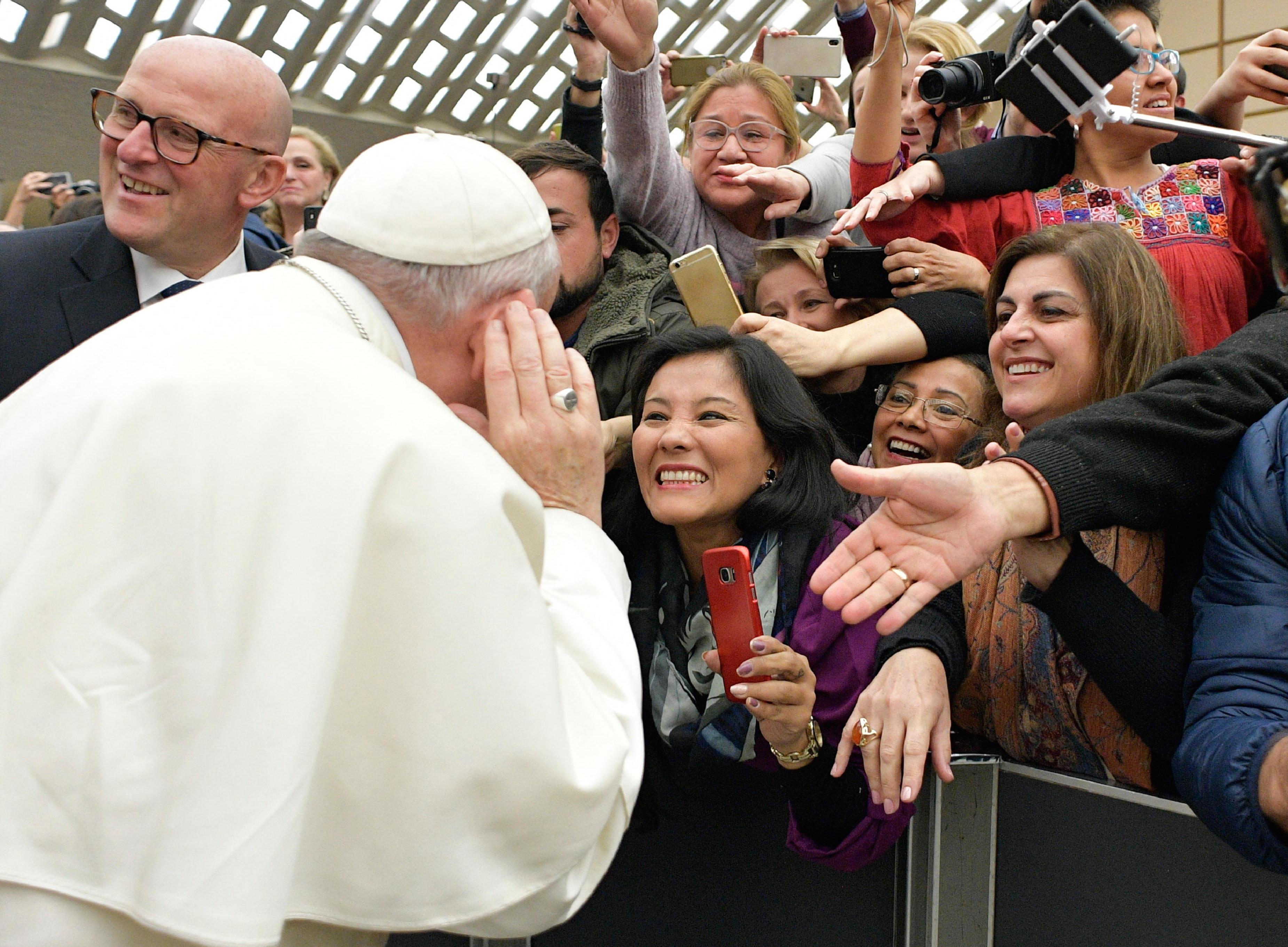 El Papa Francisco en la audiencia general © Vatican News