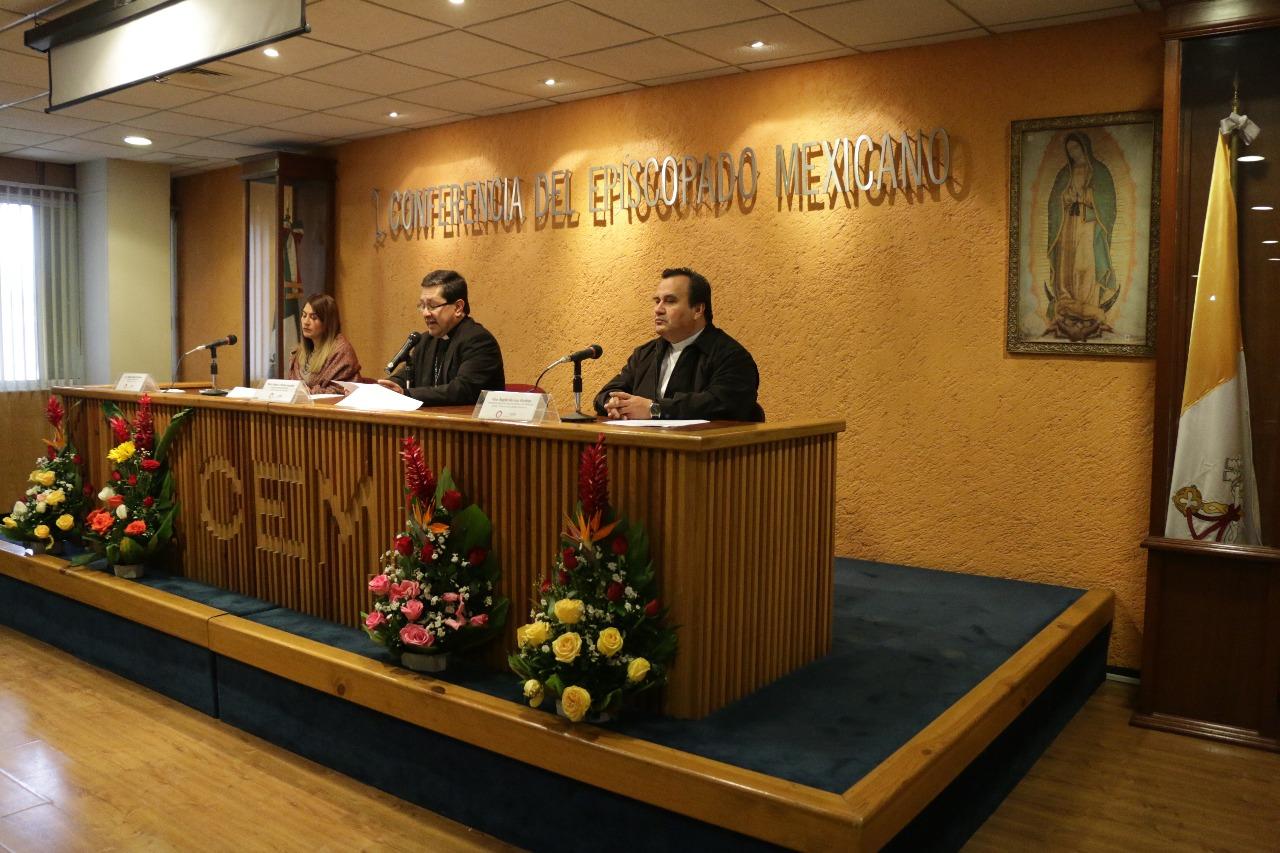 Presentación del Informe en la Conferencia del Episcopado Mexicano © CEM