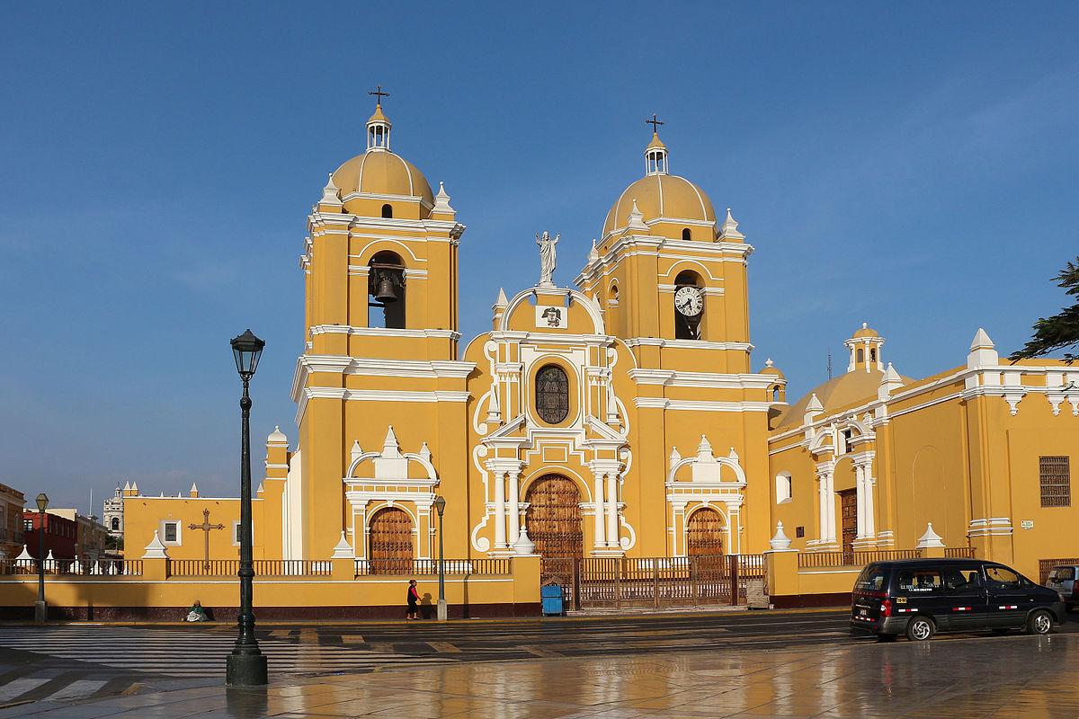 Catedral de Trujillo, Perú. Wikimedia Commons
