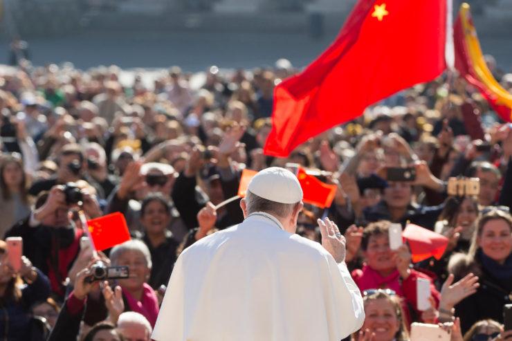 El Papa se encuentra con peregrinos de China © L'Osservatore Romano