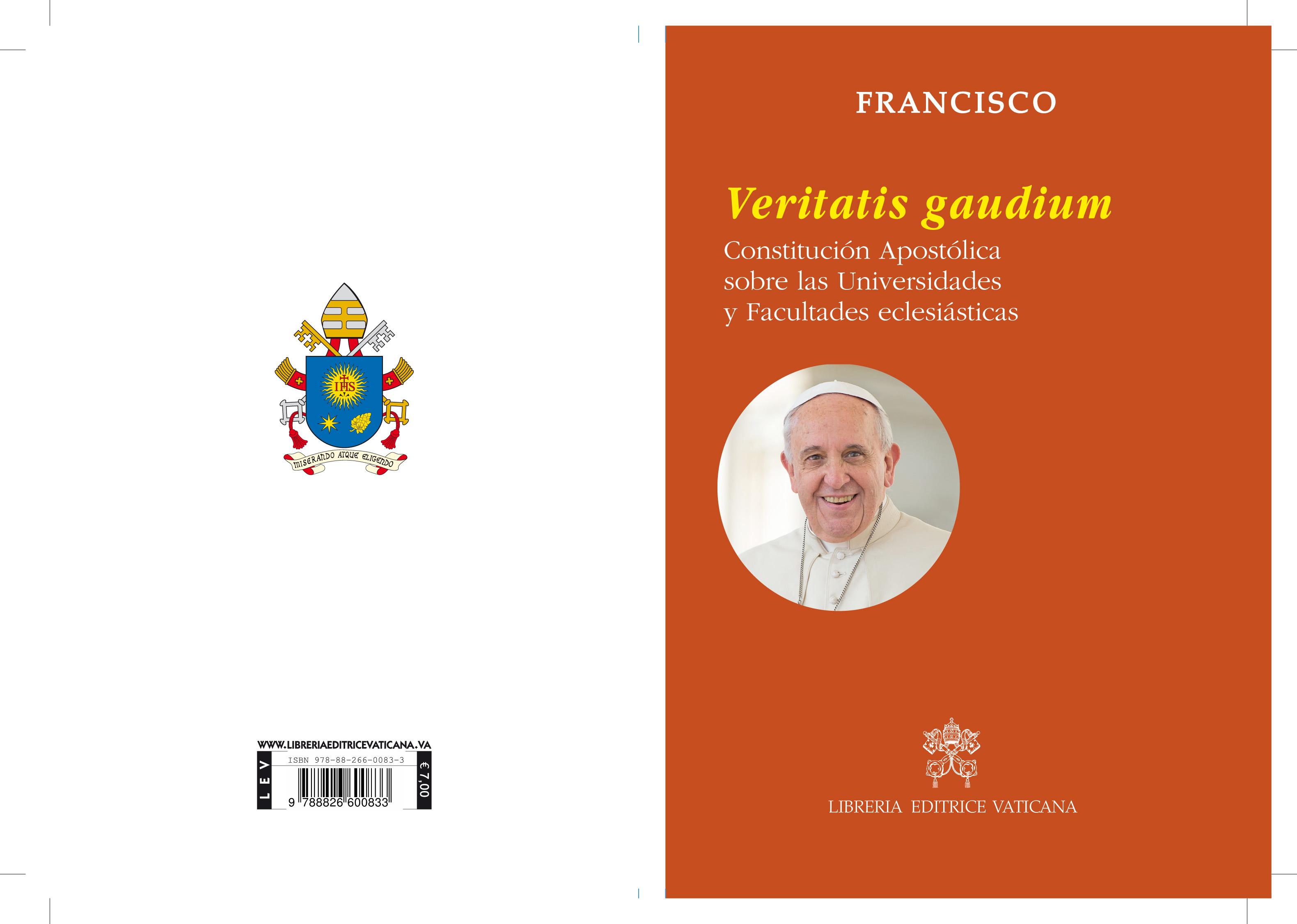 Portada de la Constitución apostólica © Vatican Media