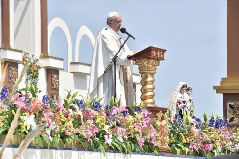 Homilía del Papa Francisco en la Misa celebrada en Iquique, Chile © Vatican Media