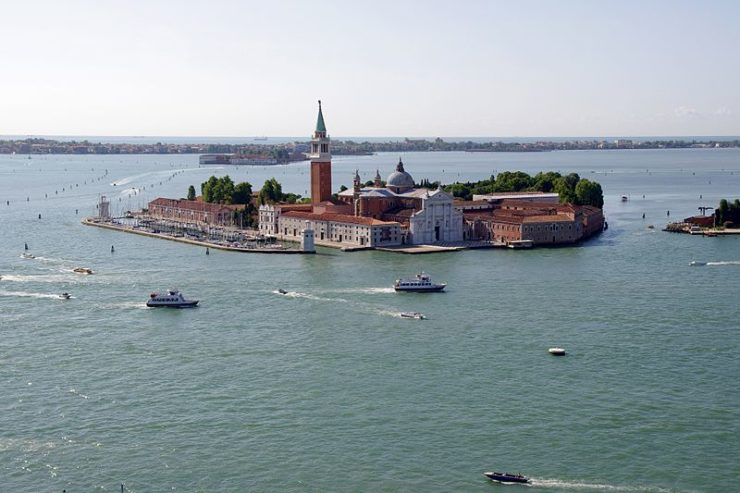 Isla de San Giorgio Venecia (Italie) @Wikimedia Commons, Jakub Hałun