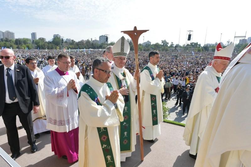 Francisco ha dedicado su homilía a la paz y las bienaventuranzas © L'Osservatore Romano