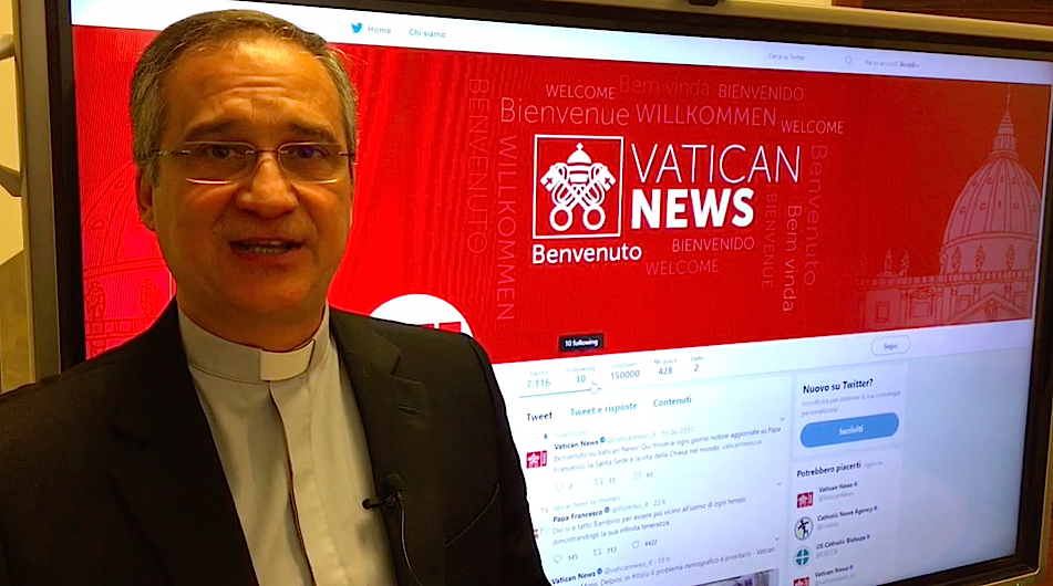 Mons. Darío Edoardo Viganò, prefecto de la Secretaría de Comunicación de la Santa Sede