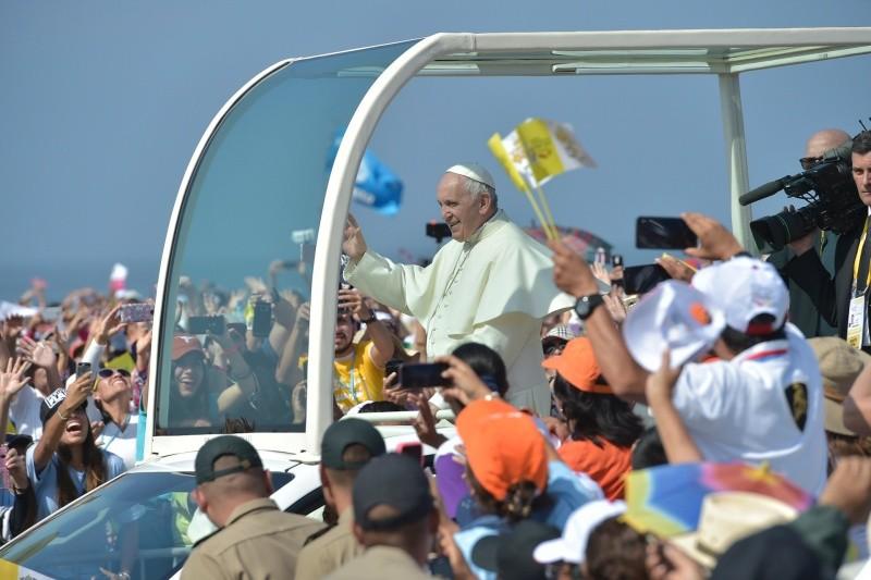 El Papa Francisco en Trujillo © Vatican Media