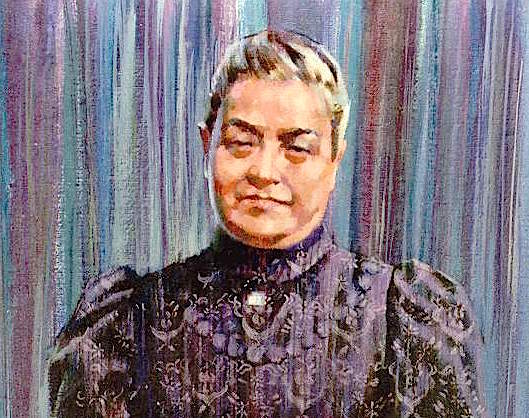 Beata María Dolores Rodríguez Sopeña. Pintura de R.Lazzarini