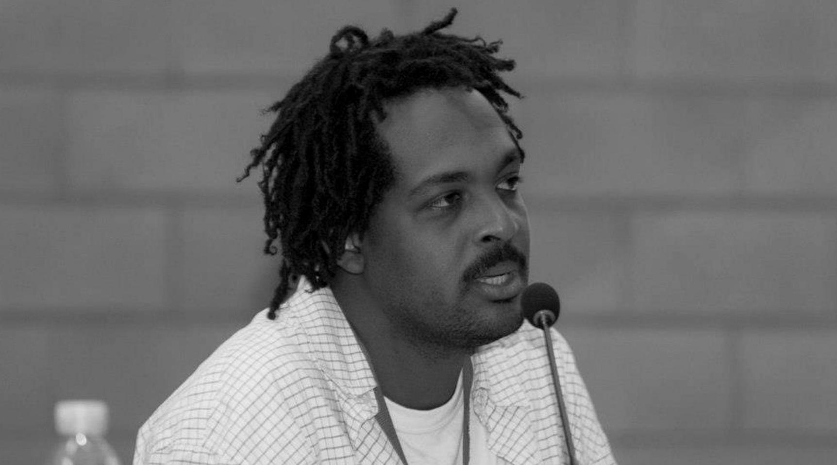 Wooldy Edson Louidor, haitiano, renombrado referente por los derechos del migrante © Enrique Soros