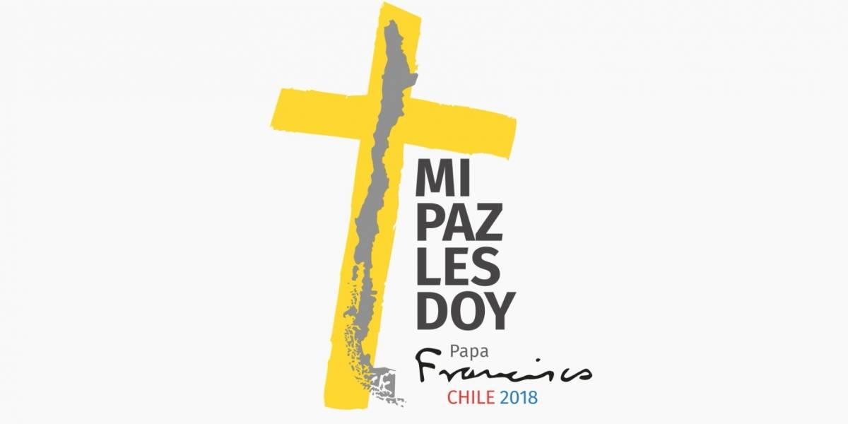 Logo de la visita apostólica del Papa a Chile