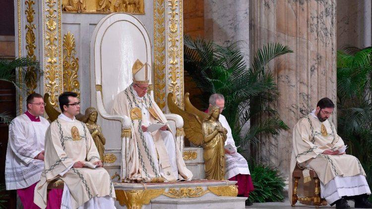Conversión de San Pablo © Vatican Media
