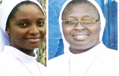 Dos de las religiosas liberadas en Nigeria © Agencia FIDES